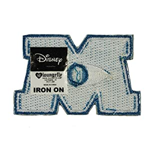 Monsters Inc University Logo Patch Disney DIY Costume Accessory Iron On Applique