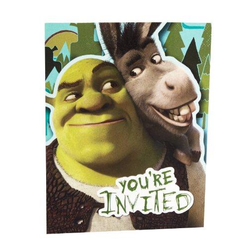 Hallmark Shrek Forever After Invitations - 8 ct]()