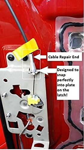 Ford Door Cable Repair Kit For F Series With Cam Piece E Series Ranger Expedition Excursion Navigator 4 Ends Repairs Two Cables