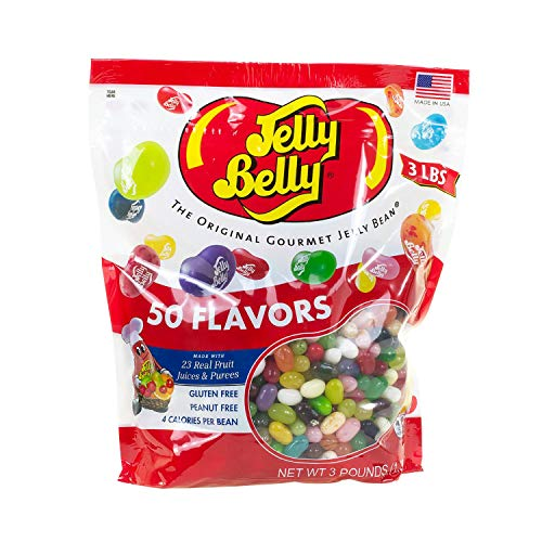 Jelly Belly 3 Pound Bag - 50 Flavors - Kosher -