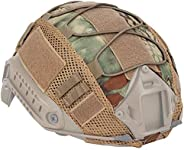 Helmet Cover Mesh Helmet Cover Helmet Cover Helmet Accessories for Outdoor Airsoft Paintball Gear Grey ACU Sty