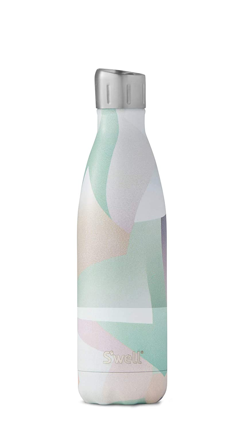 S'well Vacuum Insulated Stainless Steel Sport Water Bottle, 17 oz, Zephyr