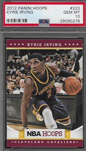 2012-13 Panini Hoops - Kyrie Irving - NBA Basketball Rookie Card - GRADED PSA 10 GEM MINT - RC Card #223 ()