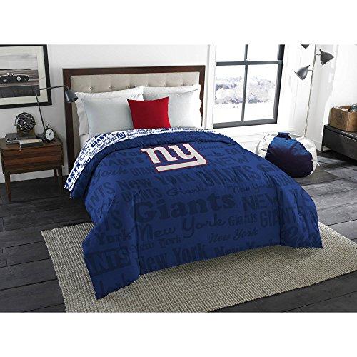 Northwest NFL New York Giants Bedding Set, Full