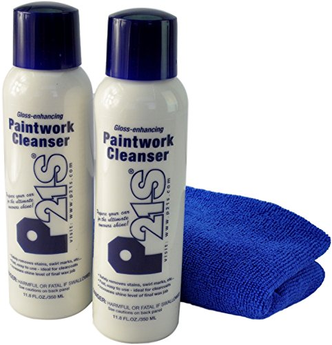 - P21S Paintwork Cleanser with Microfiber