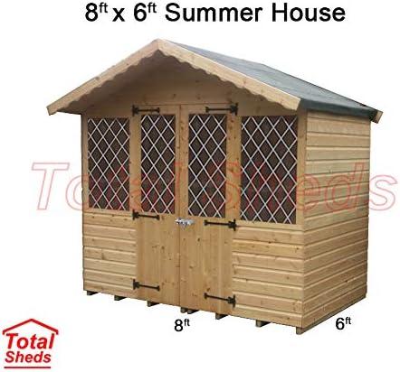 Summer House Cabin Supreme Cabin 2.4m x 8ft 2.4m Total Sheds 8ft