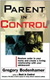 Parent in Control, Gregory Bodenhamer, 0684807777