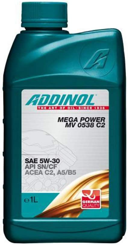 Addinol Mega Power Mv 0538 5w 30 C2 A5 B5 Motorenöl 1 Liter Auto