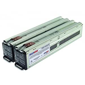RBC44 - UPSBatteryCenter SLA compatible battery set for APC SURTD5000XLT