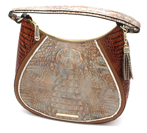 Brahmin Riesling Leather Tri Embossed Hobo Amira Shoulder Textured wawC8Aq