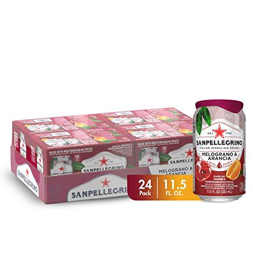 Sanpellegrino Pomegranate and Orange Sparkling Fruit Beverage 24-Pack Now $10.32
