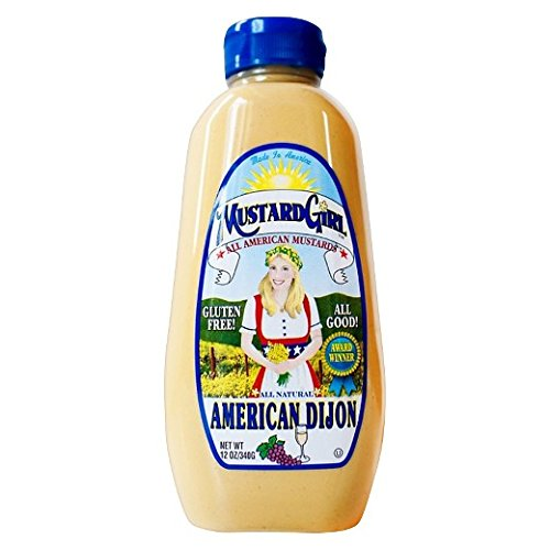 Price comparison product image All American Mustard Girl All Natural American Dijon Mustard 12 oz. (Pack of 2)