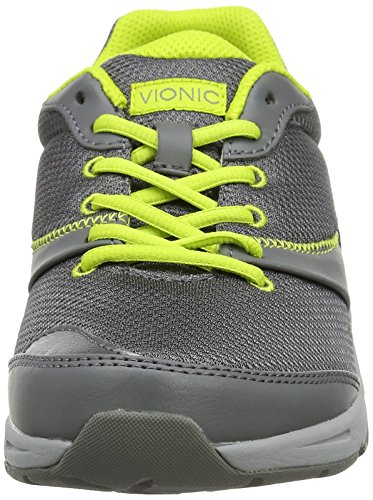 cheap exclusive Vionic Kona Women's Orthotic Athletic Shoe Grey/Lime free shipping cheap online pQSYYa