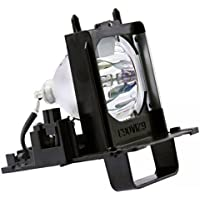 Roccer 915B455011 Projection TV Lamp with Housing for Mitsubishi Televisions