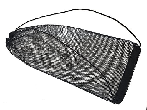 AxiCore Snorkeling, Scuba Diving, Swimming Mesh Bag. Swim Fin Mesh Gear Bag. Double Shoulder Strap so can be carried as backpack or slingpack. Durable Large Mesh Fin Bag. by AxiCore (Image #1)