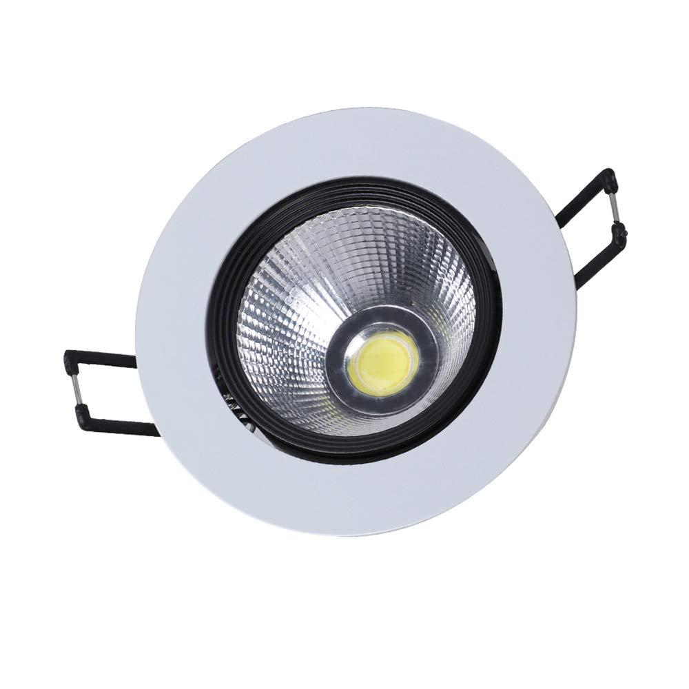 Einbauleuchten Möbel & Wohnaccessoires Modenny COB Ultra Bright Anti-Glare Spotlight LED Deckenleuchte Vertieftes Downlight-Bekleidungsgeschäft Eingebettetes Aluminiumpaneel-Licht Büro-Wohnzimmer-Schlafzimmer