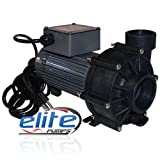 Elite 800 Series 3600 GPH External Pond Pump 3600ELT17 with Priming Pot Adaptor Unions
