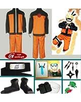Japanese Anime Naruto Cosplay Uzumaki Naruto Cosplay Costume Naruto Clothes Full Set