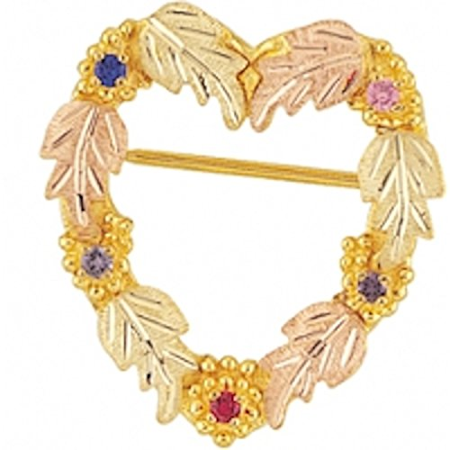 Black Hills Gold Mother's Brooch - 1 to 12 ()