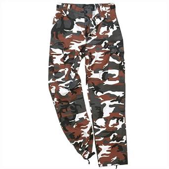 Mil-Tec BDU Ranger Combat Trousers Red Camo size L at Amazon Men s ... e96aa737e3f