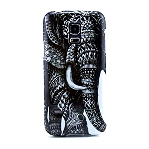 Supershop® Slim Fit Flexible TPU Case for Samsung Galaxy S5 Mini with Free Universal Screen-Stylus (giant elephant)