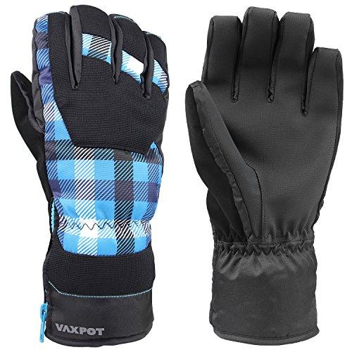 [해외]VAXPOT (백 냄비) 장갑 스노우보드 스키 맨 즈 레이디스 【 Thinsulate 사용 방수 투 습 필름 (내 수압 10000mm 투 습도 8000g) 】 VA-3956 / VAXPOT (Back Spot) Gloves Snowboard Ski Men`s Women`s [Thinsulate Use Waterproof Moisture Permeabl...