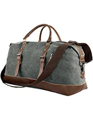 Travel Duffel Weekend Overnight Bag - Tote Bag for Men and Women