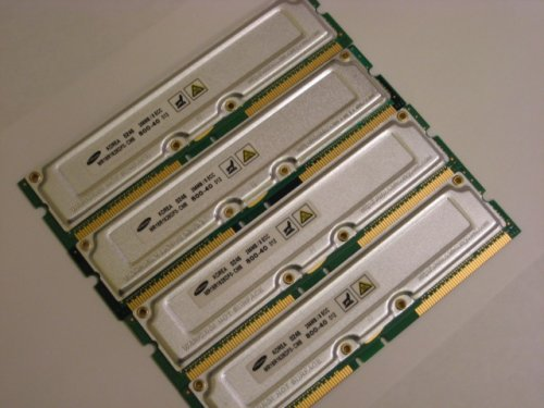 RDRAM for Dell Dimension 8250 8200 8100 PC800-40 1GB (4 X 256MB) Rambus - Pc800 Memory Rdram