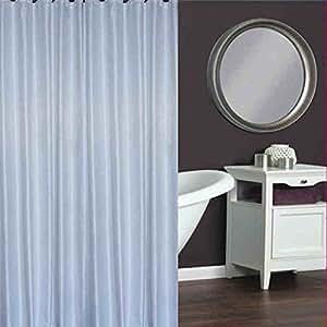 Blanco Cortina de ducha Baño Cortinas de ducha Cortinas de ducha impermeables Polyeste Cortinas de ducha(180*200cm/200*180cm) ( Tamaño : 180*200cm )