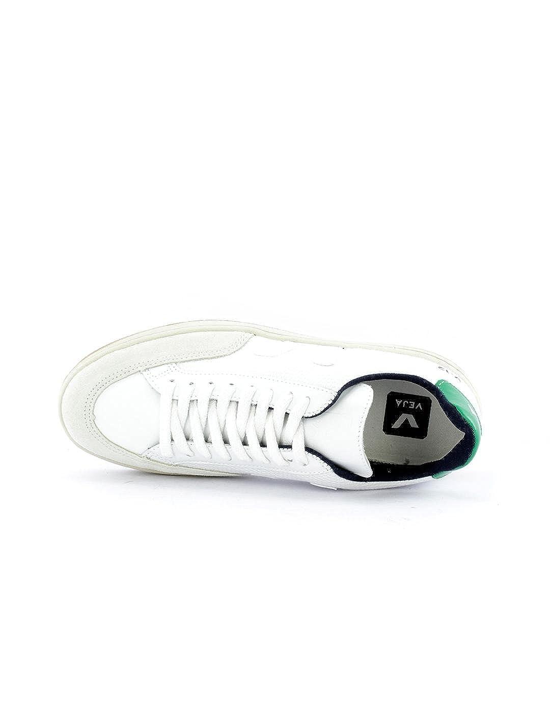 Zapatilla Veja V-12 Bmesh Emeraude Blanca 36: Amazon.es: Zapatos y complementos