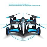Zlimio Mini RC Helicopter Remote Control Drone Flying Vehicles Flying Car with 2.4GHz 6CH 4Axis RC Quadcopter