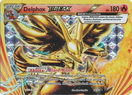 Pokemon - Delphox Break (14/124) - XY Fates Collide - Holo ()