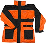 Vega Technical Gear Rain Jacket (Optic Orange, 3X-Large)