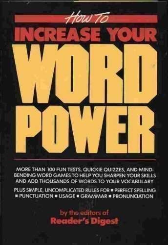 increase your word power - 2