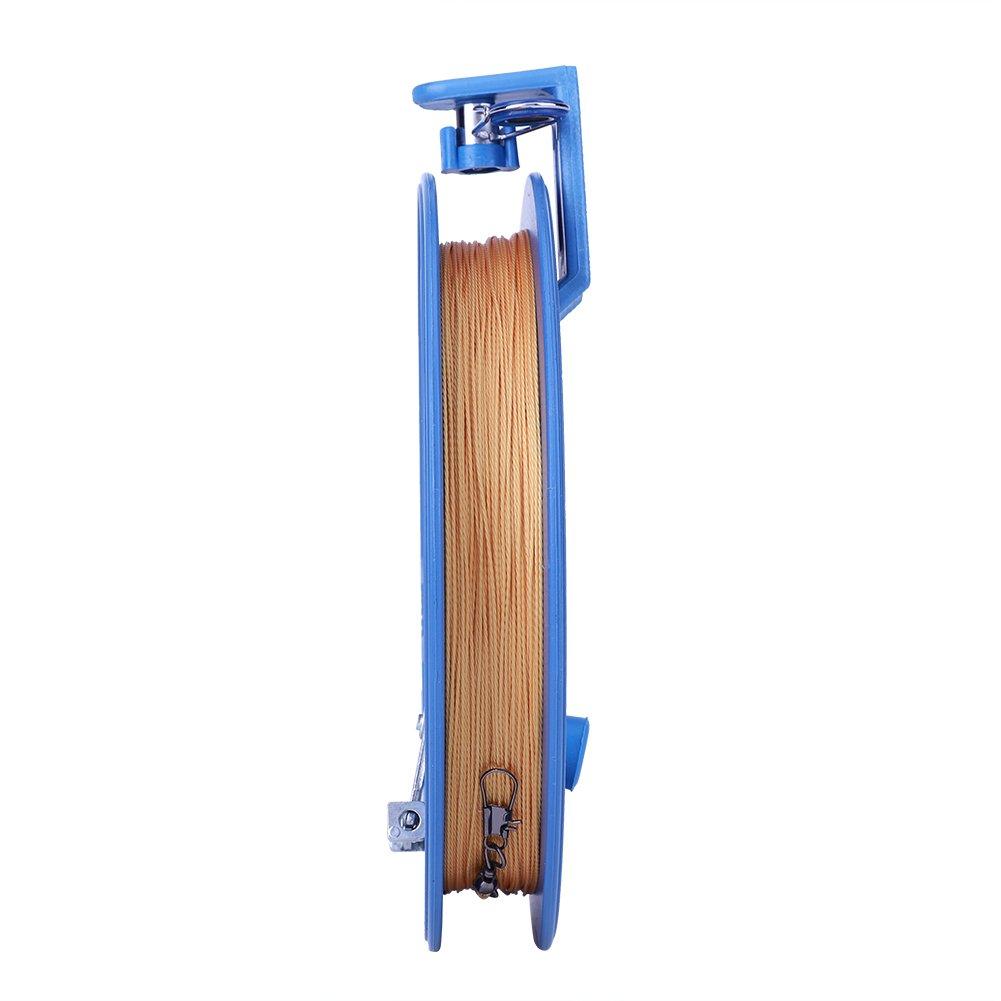 Zerodis Linea di Aquiloni e Cordaperfezionare Accessori per Aquiloni per Bambini Kite Reel Aquiloni Flying Line Winder Winding Grip Wheel Attivit/à Allaperto per Bambini 7.09 Inch