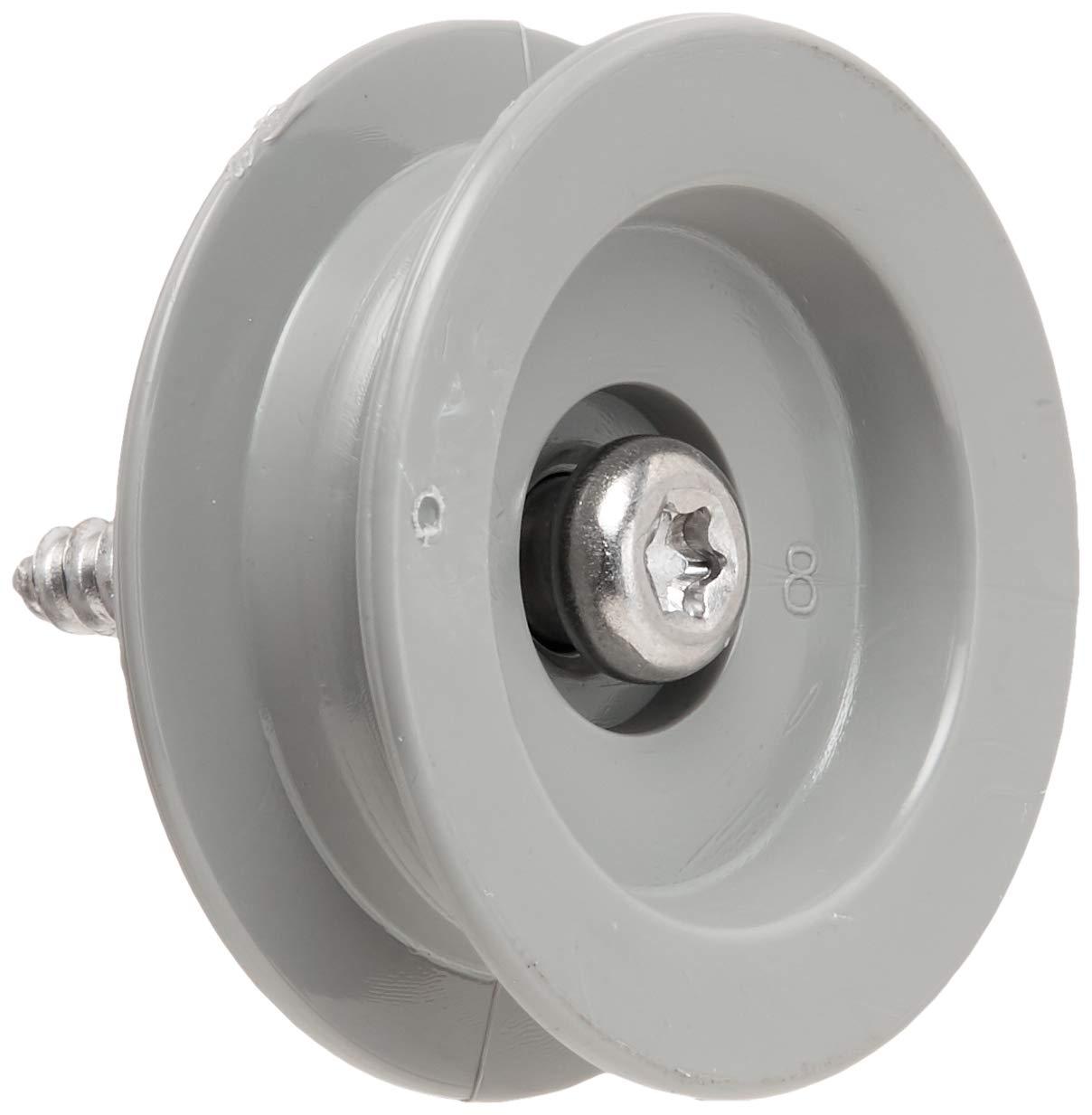 Frigidaire 5304507405 Dishwasher Dishrack Support Roller Assembly Original Equipment (OEM) Part, White by FRIGIDAIRE