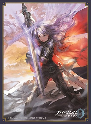 Fire Emblem 0 Cipher Princess Lucina Card Game Character Mat Sleeves Collection No.FE06 Matte Anime Girl Awakening Fates Great Lord 06 6 from Movic