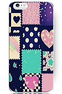 iPhone 6 Case, SPRAWL iPhone 6 (4.7-inch) Case Extremely Thin Skin Scratch-Proof Case for iPhone 6 (4.7 inch) (2014) -- Heart Dot Star Pattern