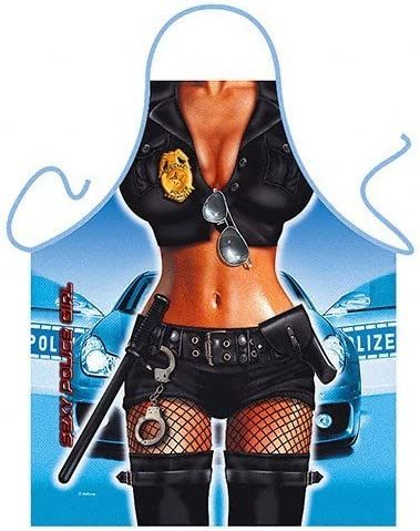 Sexy Police Woman Apron