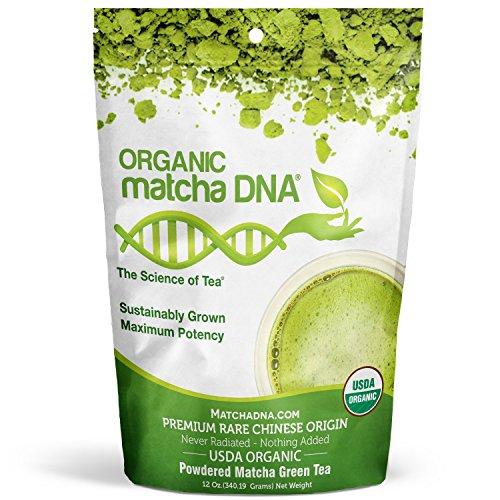 Matcha DNA Certified Organic Matcha Green Tea (12 oz Matcha)