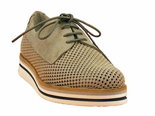 Dorking Cordones acier Mujer Zapatos de Steal xpqBrx1wE