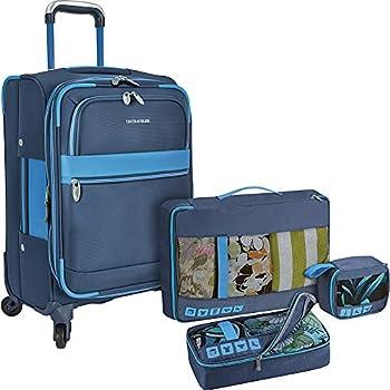 U.S. Traveler Alamosa 4-Piece Carry-On Luggage Set