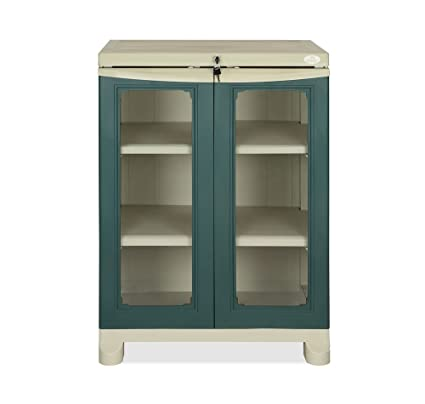 Nilkamal Olive Green Plastic Freedom Small Cabinet: Amazon.in: Home ...