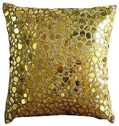 Mosaic 3D Metallic Sequins Pillow Case