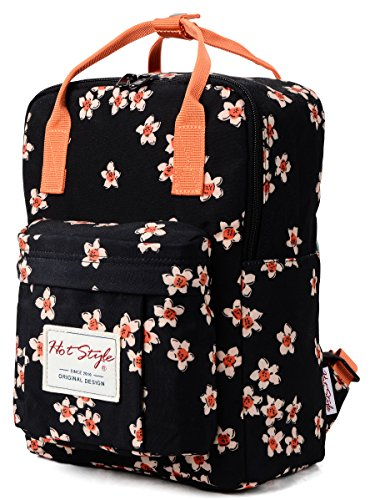 HotStyle BESTIE Mini Small Personalized Floral Waterproof Backpack Purse - Designer Small Diaper Bags