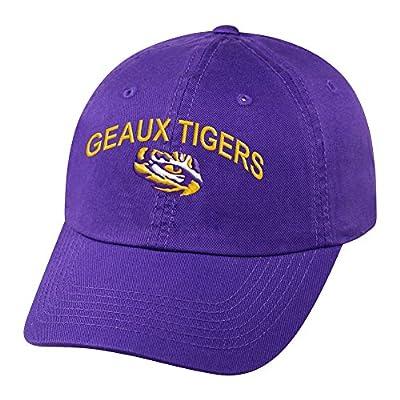 Elite Fan Shop NCAA Men's Adjustable Hat Relaxed Fit Team Arch by Elite Fan Shop