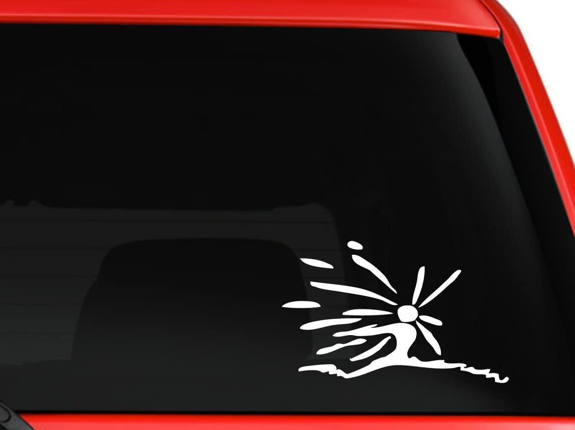 Howl's Moving Castle Calcifer Spirt Dancer Sticker Decal Ghibli Laputa Jdm Anime White Car Window Wall Macbook Notebook Laptop Sticker Decal