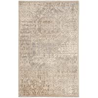 Nourison Graphic Illusions (GIL09) Ivory Runner Area Rug, 2-Feet 3-Inches by 8-Feet (23 x 8)