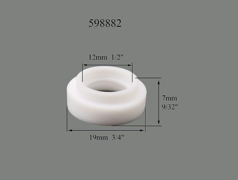 TIG Gas Lens Collet Corpo 45V44 e Coppa Pyrex Kit DB SR WP 9 20 25 Torcia Saldatura Tig 9pcs