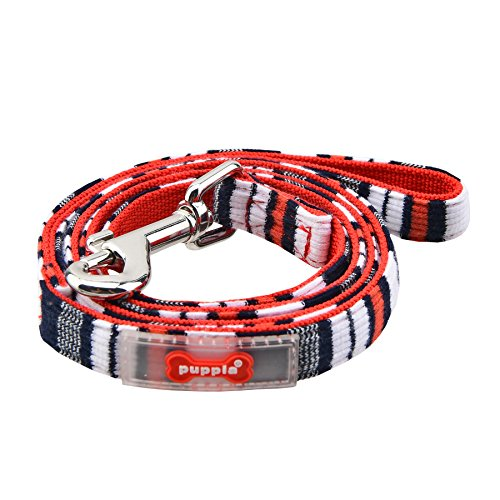 Puppia Ocean Lead, Large, Red